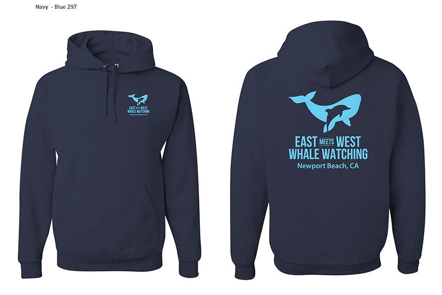 East Meets West Hoodie
